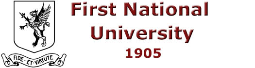 First National University